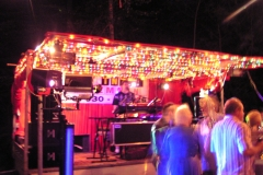 Showbühne am Hollenbacher Seefest - Nachts