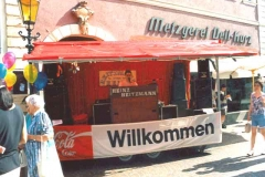 Showbühne beim Stadtfest in Bad Mergentheim 2