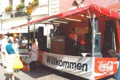 Showbühne beim Stadtfest in Bad Mergentheim 1