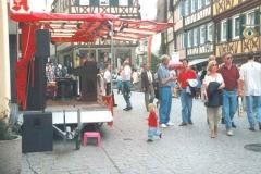 Showbühne am Stadtfest in Schwäbisch Hall 2