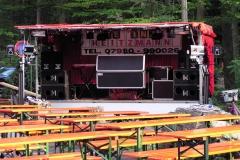 Showbühne am Hollenbacher Seefest - tagsüber