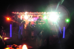 Showbühne mit Lightshow