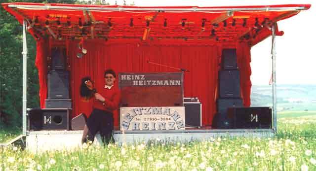 Showbühne Waldfest