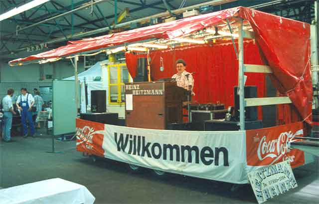 Showbühne Betriebsfest ZF-Getriebe