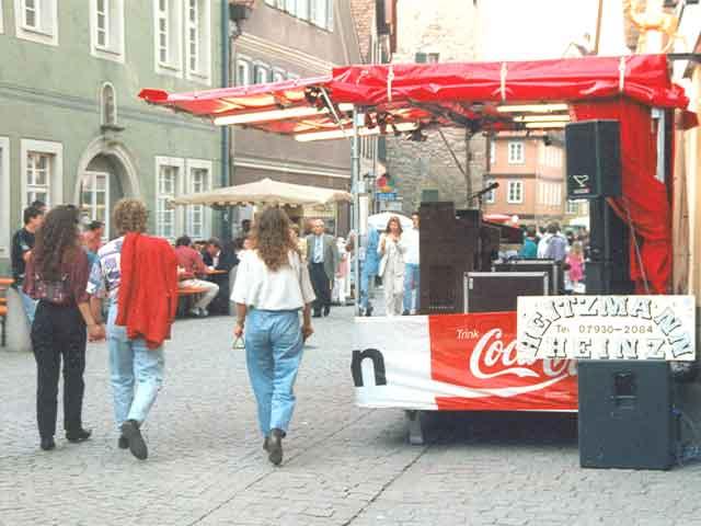 Showbühne beim Stadtfest in Schwäbisch Hall 2