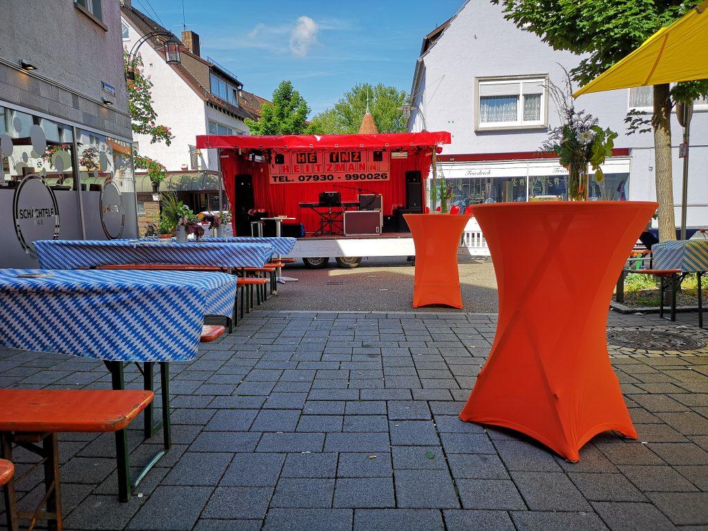 Showbühne Crailsheim Strassenfest