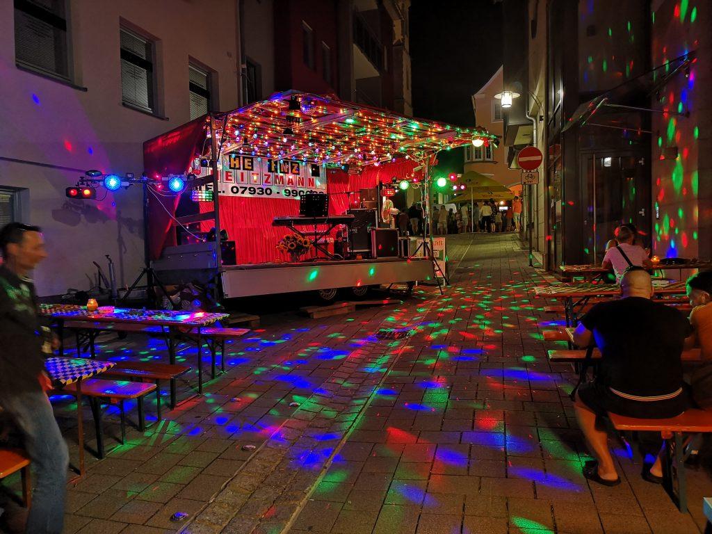 Showbühne Crailsheim Stadtfest